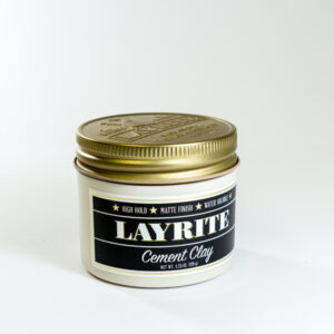 Layrite Cement Hair Clay (Black) - 3Bs Barber Shop Galway