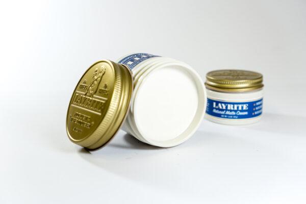 Layrite Natural Matte Cream (Blue) - 3Bs Barber Shop Galway