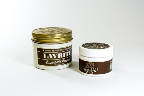Layrite Super Hold Pomade (Brown) - 3Bs Barber Shop Galway